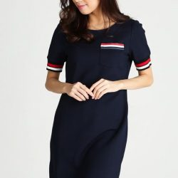 """[MOSS] Shop """"ARDATH DRESS IN NAVY"""" in ours Extra 20% off* Online Sale!"""