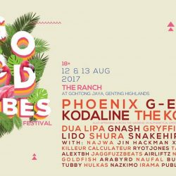 [SISTIC Singapore] Tickets for GOOD VIBES FESTIVAL 2017 goes on sale on 20 May 2017.