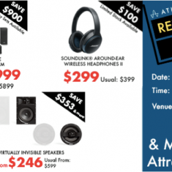 [BOSE] Missed the first day of our relocation sale?