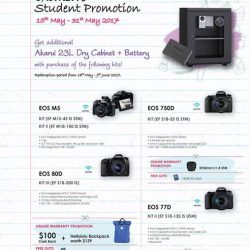 [Cathay Photo] Attention all students!