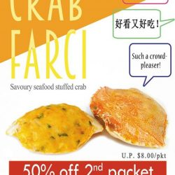 [THE SEAFOOD MARKET PLACE BY SONG FISH] Crab Farci on promotion now!