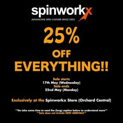 [Spinworkx] People who have spoken to us, participated in our events or just hung out at the store know that we