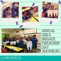 [Luminous Dental Clinic] Preparing for Annual Girls' Brigade Friendship Day - Health & Wellness theme on 3rd June '17 (Sat) at the open field in