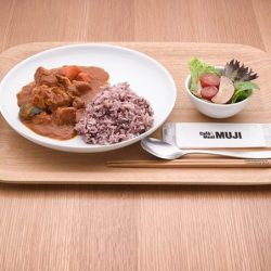[MUJI Singapore] Have a Nutritious Lunch of Butter Curry Chicken with Ten Grain Rice today.