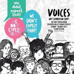[British Council] VOICES Art Exhibition 2017 - We Didn't Expect That!