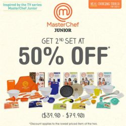 [Gifts Greetings] Check out our special promotion for masterchef junior products!