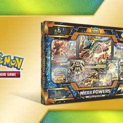 [Toy Station] POKEMON TCG MEGA POWERS COLLECTIONLaunch: May 19, 2017 Flying fists, crackling lightning, and powers like no others: the four
