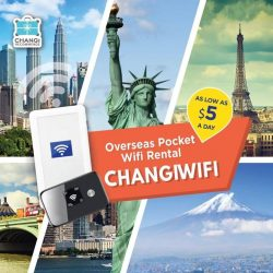 [Changi Recommends] FORGET DATA ROAMING and stay connected conveniently with overseas pocket wifi in over 25 destinations.