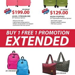 [The Travel Store] We've heard you and buy 1 free 1 promotion has been extended!