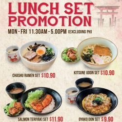 [Aji-ichi] Our New Lunch Set Promotion start from $9.