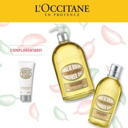 [L'Occitane] Our Almond launch is coming to an end in a week's time!
