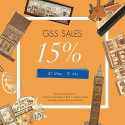 [ARCH] Enjoy 15% off at Arch this Great Singapore Sales from 27 May to 31 July 2017!