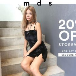 [MDSCollections] Take 20% off storewide, online & in-stores One day only, ends Monday 2359Shop SALE via the link below http://