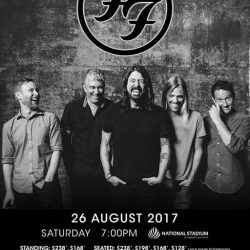 [Kallang Wave Mall] International stadium/arena headliners, Foo Fighters, will make their grand return to Singapore after more than two decades with a