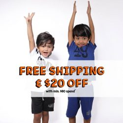 [Fox Fashion Singapore] Hands up, who wants free shipping?