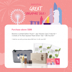 [Innisfree Singapore] Have you checked out our GSS Specials going on instores now?