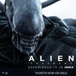 [Shaw Theatres] Secure your seat on board the Covenant ship now.