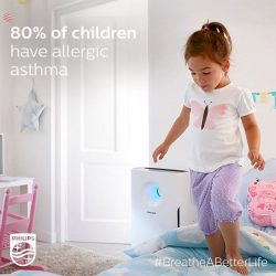 [Philips] DidYouKnow that 50% of adults and 80% of children suffer from allergy-related asthma?