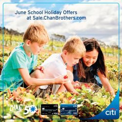 [Citibank ATM] Booked your trip for the June school holidays?
