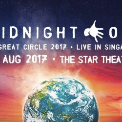 [SISTIC Singapore] Tickets for MIDNIGHT OIL THE GREAT CIRCLE WORLD TOUR goes on sale on 12 May 2017.