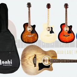[Cristofori Music School] Look out for our Asahi Guitars, going for $50, during out Warehouse Sales!