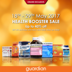 [Guardian] It is time for a Health Booster!
