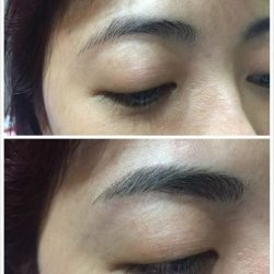 [Brow Art Studio] Natural Brow embroidery that you can't tell the difference done by our master artist Jenny Xu.