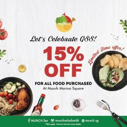 [Munch Saladsmith] Let's celebrate GSS with us!
