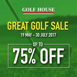 [Golf House Singapore] The Great Golf Sale is here!