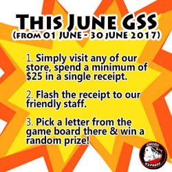 [Choco Express] This June GSS, lets add more fun to your purchase!