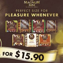 Magnum: Limited Time Offer - Magnum Mini Pack at 2 for $15.90 (UP $10.90 each)!