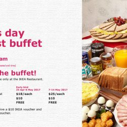IKEA Singapore: Mother's Day Breakfast Buffet