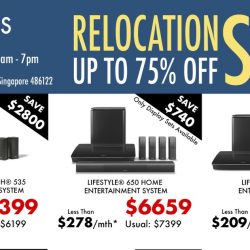 Atlas: Relocation Sale with up to 75% OFF Home Theatre Systems, TVs, Speakers & More
