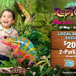 Singapore Zoo / River Safari: Local Residents Get $20 OFF 2-Park Combo