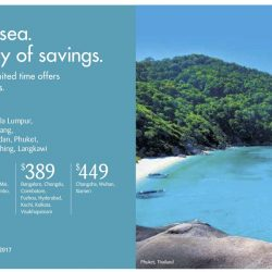 SilkAir: Limited Time Offer with All-in Return Fares from $139 to Kuala Lumpur, Penang, Medan, Phuket, Kuching, Langkawi & More!