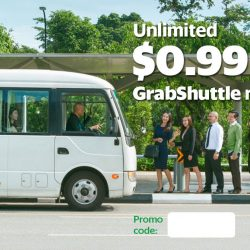Grab: Unlimited $0.99 GrabShuttle Rides on 12 May 2017