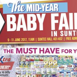 Suntec Singapore: Baby Baby Mid-Year Baby Fair 2017