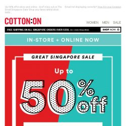 [Cotton On] The GREAT SALE that keeps on giving!