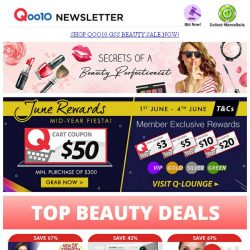 [Qoo10] Beauty Perfectionist - Save Up To 60%!