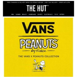 [The Hut] Vans x Peanuts Collection has landed!