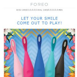[Foreo] Curious About Sonic Oral Care? Enjoy a Discount on an ISSA play Today!