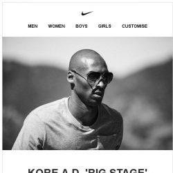 [Nike] Now Available: Kobe A.D. 'Big Stage'