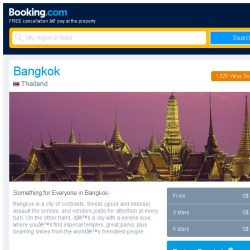 [Booking.com] Deals in Bangkok from S$ 10