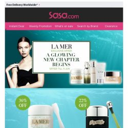 [SaSa ]  【Exclusive Offer】LA MER|A Glowing Start to the New Season!