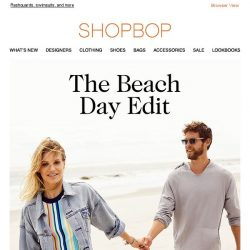 [Shopbop] Surf-inspired summer style