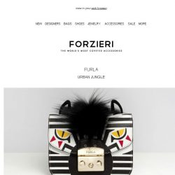 [Forzieri] Furla | It's A Jungle Out There
