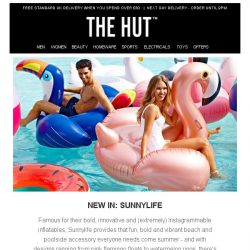 [The Hut] New In from Sunnylife - Get set for Summer   20% off Le Creuset