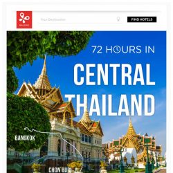 [Kaligo] , earn up to 9,100 Miles in just 72 hours, while exploring Central Thailand!
