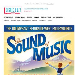 [SISTIC] The Sound of Music – Now On Sale!