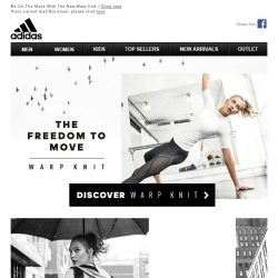 [Adidas] The Freedom To Move.